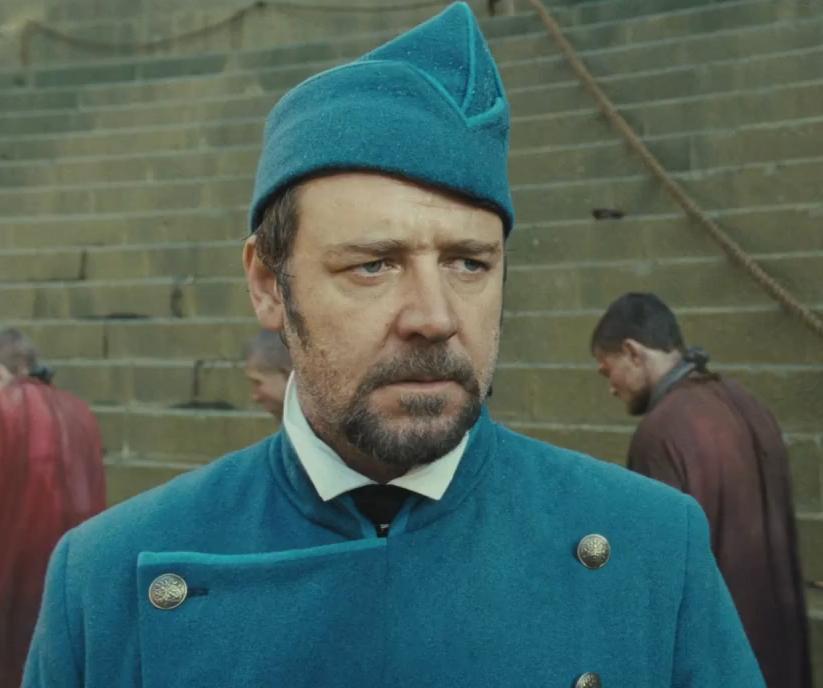 Russell Crowe les mis